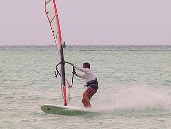 サイパンマイクロビーチ2007年7月26日田島選手