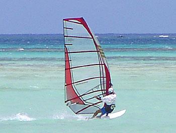 サイパンマイクロビーチ2007年8月24日ちょっと吹いた