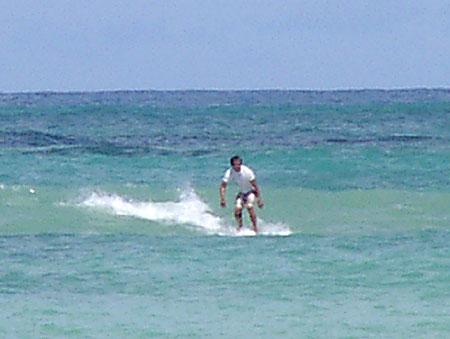 2007年10月13日今日のサイパンマイクロビーチ2