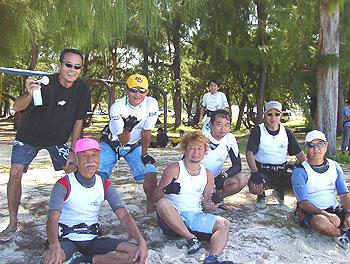 2006年11月マリアナスカップ選手たち
