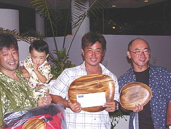 2006年11月表彰式メンズ