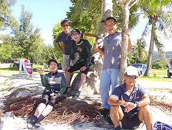 2006年11月16日ビーチの様子