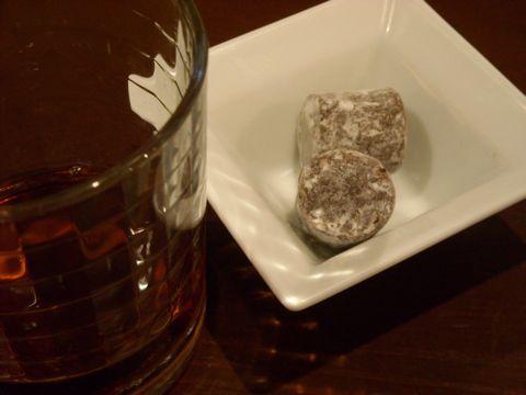 ヴィタメール純生チョコとアヒャ酒