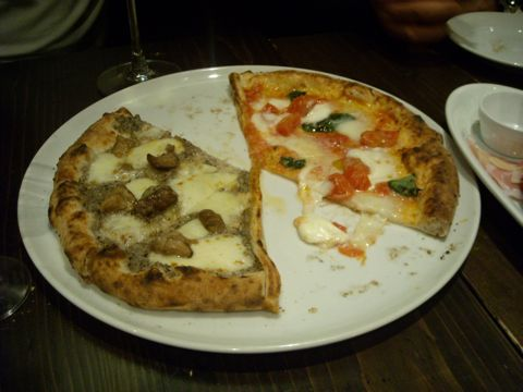 ロッソのピッツァ