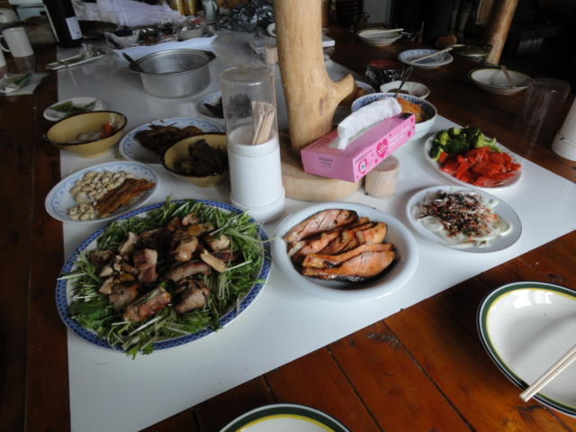 2012年1月3日朝食 2