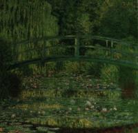 睡蓮の池、緑色のハーモニー