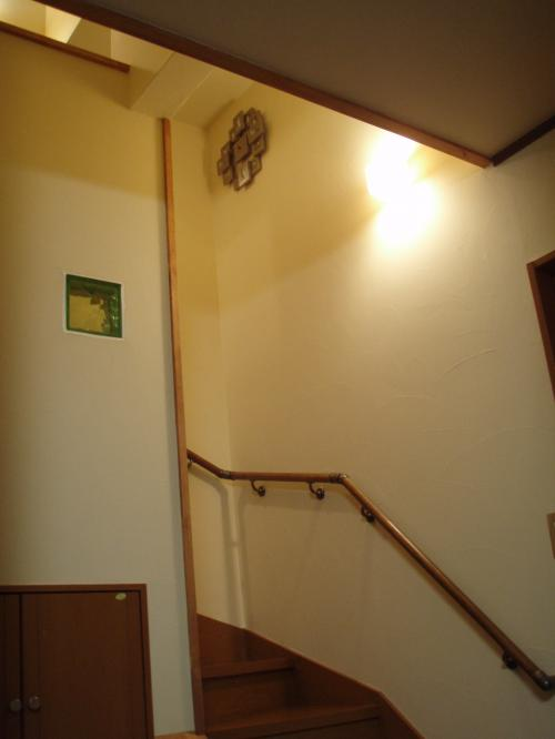 かなの時計階段