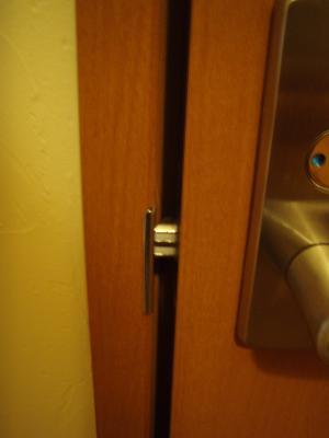 トイレ閉まる