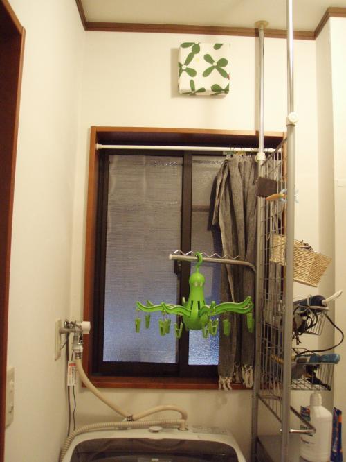 洗面所の換気扇