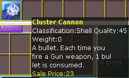 Cluster Cannon