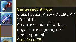 Vengeance Arrow