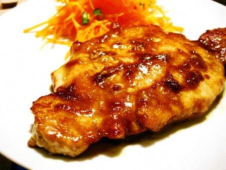 豚肉の中華風カレー焼き