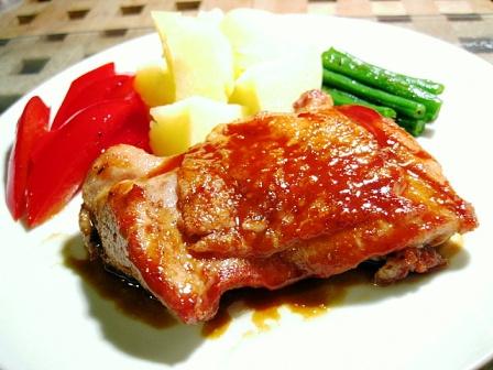 鶏肉のソテー和風マスタードソース