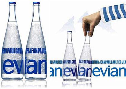 「2009『エビアン』デザイナーズボトル」