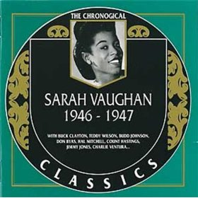 Sarah Vaughan(I Can't Get Started )