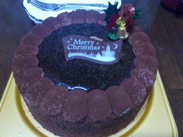 不二家のチョコ生ケーキ