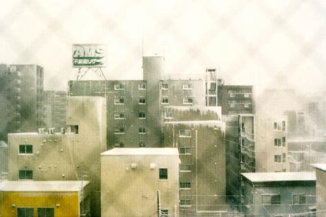 凍てつく街