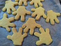 ミッキー型 クッキー