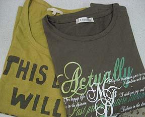 Tシャツー♪