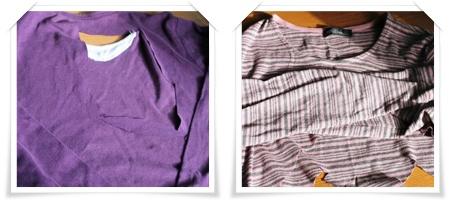 シャツの残骸