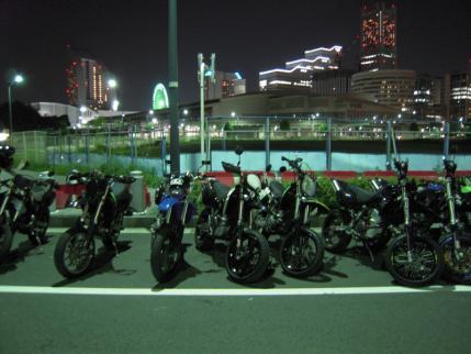 Dトラ 横浜夜景
