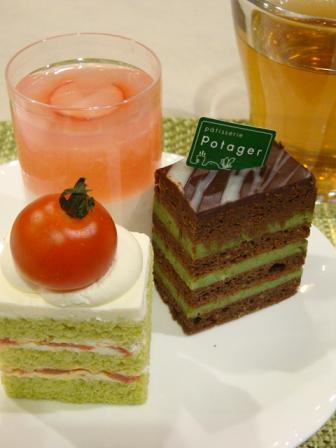 potager cake