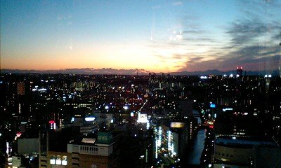 20081119_1658~シェラトンの夕焼け