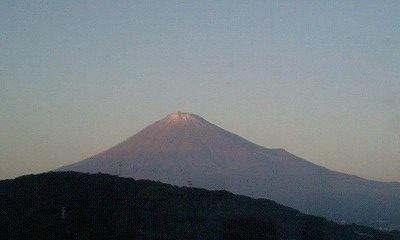 091019_1655~夕暮れの富士山