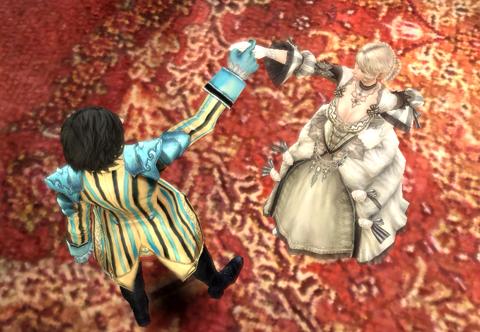 あ、れ・・・フォークダンス?