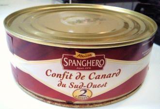 鴨のコンフィ缶