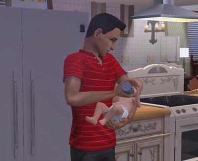 子煩悩パパ