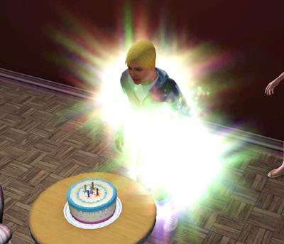 誕生日失敗