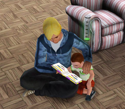 本を読んであげる