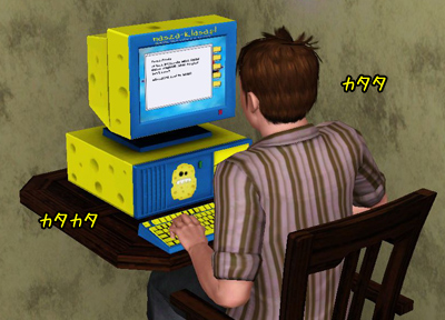 念願のパソコン