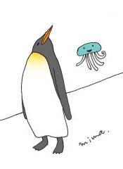 ペンギンポーズ