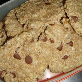 くるみとチョコチップのサクサククッキー