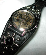 燻し仕上げオリジナル文字盤時計
