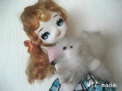 ポーズ人形b