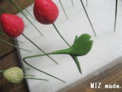 三つ葉乾燥中