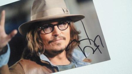 サイン♪ジョニーありがとう♪