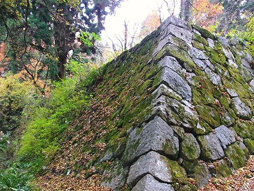 高取城石垣