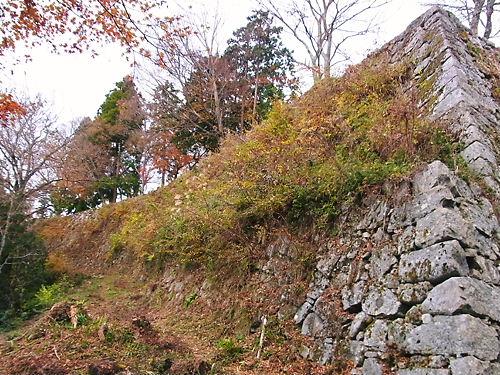 高取城本丸石垣