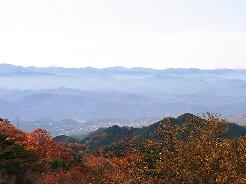 高取城本丸からの眺め