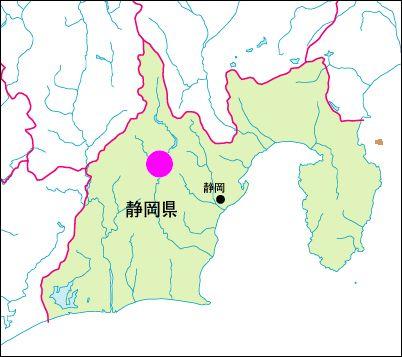静岡県 地図