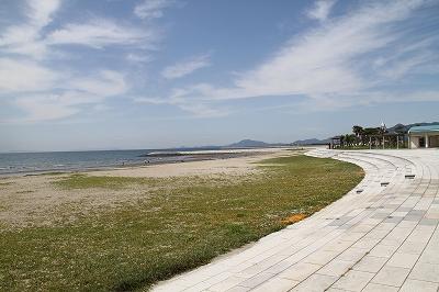 一の宮公園の浜辺1