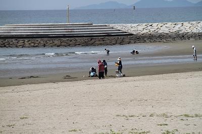 一の宮公園の浜辺