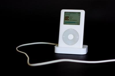 iPod dock 背景無し
