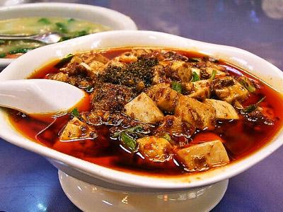 麻婆豆腐 料理 中華 皿