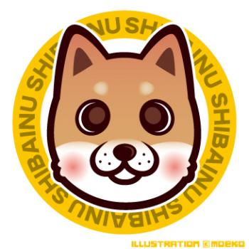 犬のイラスト柴犬