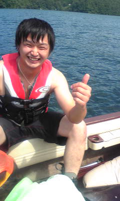 18月15日 野尻湖
